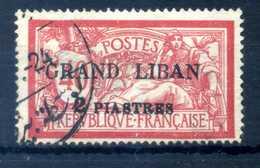 1924 GRAN LIBANO N.10 USATO - Usati
