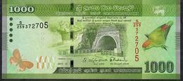 SRI LANKA P P127b 1000 RUPEES 2015 UNC. - Sri Lanka