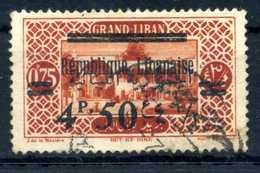 1928 GRAN LIBANO N.105 USATO - Usati
