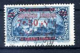 1928-29 GRAN LIBANO N.120 USATO - Usati