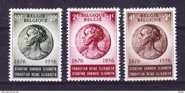 België 1956 Nr 991/93 **, Zeer Mooi Lot Krt 3543 - Belgio