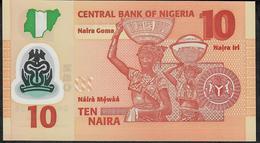 NIGERIA P39i2  10 NAIRA 2018 UNC. - Nigeria
