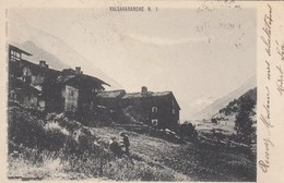 VALSAVARANCHE-AOSTA--CARTOLINA VIAGGIATA IL 30-1-1907 - Aosta