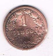 1 KREUZER 1958 V OOSTENRIJK /3199/ - Austria