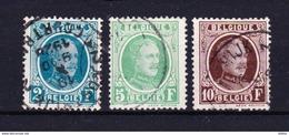 België Nr 208/210 G ,zeer Mooi Lot Krt 3490, KOOPJE ,   Zie Ook Andere Mooie Loten - Timbres