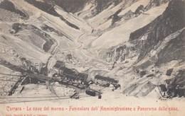 CARRARA-LUCCA-LE CAVE DEL MARMO-CARTOLINA NON VIAGGIATA -ANNO 1900-1904 - Lucca