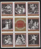 3005h: Österreich 1969, Staatsopernblock, Zusammendruck Postfrisch ** - 1961-70 Neufs