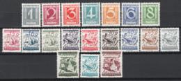 Austria1925 Unif.331/35,337,339/50 **/MNH VF/F - 1918-1945 1ra República