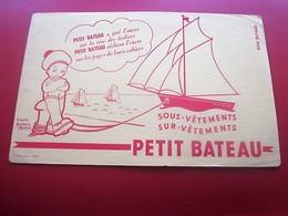 SOUS VETEMENTS PETIT BATEAU AJETE L'ANCRE - BUVARD Collection Illustré Publicitaire Publicité Textile & Vestimentaire - Textile & Clothing