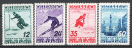 Austria 1936 Unif.477/80 **/MNH VF/F - 1918-1945 1st Republic
