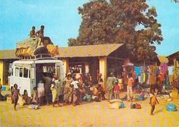 AFRIQUE Car Brousse (Taxi Brousse Bush Taxi Bushtaxi)  (fourgon Autocar Bus Autobus)  7643 Cliché Chareton* PRIX FIXE - Non Classés