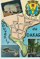CP - PHOTO - SOUVENIR DE DAKAR - LE PALAIS DU PRÉSIDENT DE LA RÉPUBLIQUE DU SÉNÉGAL - ÎLE DE GOREE - DANS LES JARDINS DE - Senegal
