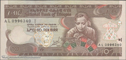 TWN - ETHIOPIA 48a - 10 Birr 1989 (1997) Prefix AL UNC - Ethiopie