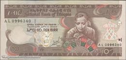 TWN - ETHIOPIA 48a - 10 Birr 1989 (1997) Prefix AL UNC - Etiopia