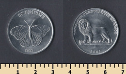 Congo 50 Centimes 2002 - Kongo (Dem. Republik 1998)