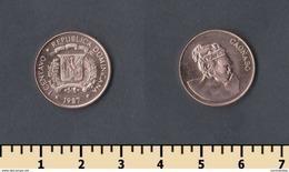Dominicana 1 Centavo 1987 - Dominicana