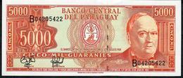 PARAGUAY P215 5000 GUARANIES 1997   Serie B    UNC. - Paraguay