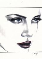 Cartes De Collection - Jennifer Janesko - Comic Image 02 - Pin Up - Other
