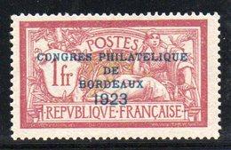 FRANCE - YT N° 182 Signé + Certificat - Neuf ** - MNH Et Centré - Cote:  925,00 € - (Bien Centré - Plus Value)) - Unused Stamps