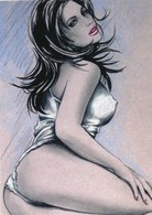 Cartes De Collection - Jennifer Janesko - Comic Image 05 - Pin Up - Other