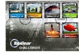 ISLE OF MAN - FDC - 2011 - TOPGEAR CHALLENGES - Man (Ile De)