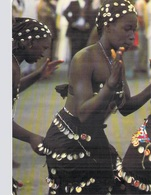 AFRIQUE EN COULEURS Folklore Africain La Danse Au Village (dance Nue Nu) ( Editions : IRIS 7631) *PRIX  FIXE - Non Classés
