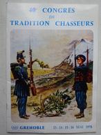 OHM Magazine Du 6e B.C.A Chasseurs Alpins Grenoble 40° Congrès De Tradition Chasseur Mai 1978 Publicités JO - Revues & Journaux