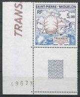 SPM MIQUELON 1987 N° 477 ** Neuf MNH Superbe C 3 € Bateaux Boats Voilier Sports Sailboat Course Transatlantique - St.Pierre Et Miquelon