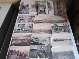 Lot Cpa Carte Postale Ancienne Guerre - Militaria