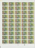 Faciale 19 Eur ; Feuille De 50 Tbs à 2.50 Fr N° 2708 (cote 60 Euros) - Ganze Bögen