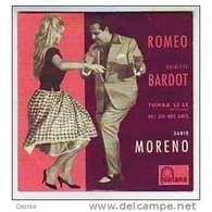 BRIGITTE  BARDOT     4 TITRES  CD SINGLE   COLLECTION  REPRODUCTION  DU  45 TOURS  D'EPOQUE - Autres - Musique Française
