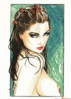 Cartes De Collection - Jennifer Janesko - Comic Image 12 - Pin Up - Other