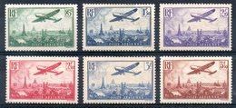 FRANCE - YT PA N° 8 à 13 - Neufs ** - MNH - Cote 300,00 € - 1927-1959 Ungebraucht