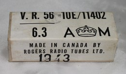 Boite De Lampe Radio Canadienne 1943 - Radio's