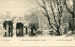 PORTO - GRUTA DO PALACIO DE CRYSTAL. PORTUGAL POSTAL CPA CIRCA 1900's NOT USED -LILHU - Porto