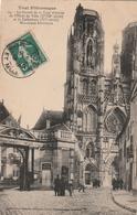 54 Toul. Le Portail De L'hotel De Ville, La Cathedrale - Toul