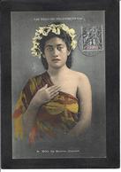 CPA Tahiti Océanie Polynésie Française Circulé Types Femme Girl Woman - Tahiti