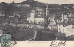 BERGAMO-BORGO CANALE-CARTOLINA VIAGGIATA IL 22-8-1901 - Bergamo