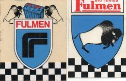 Lot Autocollant BATTERIES FULMEN - Aufkleber