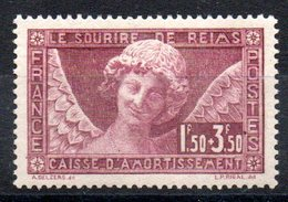 FRANCE - YT N° 256 - Neuf ** Signé Calves - MNH - Cote: 160,00 € - France
