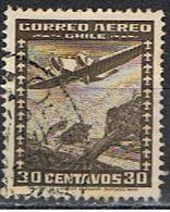 CHILE 140 //  YVERT 91 P.A // 1944-54 - Chili