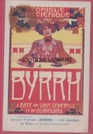 PUBLICITE BYRRH--Concours D'Affiches--5° Prix--Illustrateur Paul Cauchie - Advertising