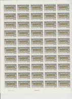 Faciale 19.05 Eur ; Feuille De 50 Tbs à 2.50 Fr N° 2725 (cote 60 Euros) - Feuilles Complètes