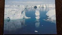 CPM GLACES DE L ASTROLABE TERRE ADELIE FRONT DU GLACIER EXPEDITIONS POLAIRES FRANCAISES PHOTO GUILLARD - Postkaarten