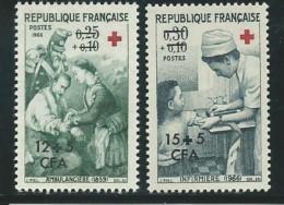 REUNION CFA: **, N° YT 370 Et 371, TB - Réunion (1852-1975)