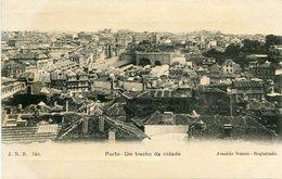 PORTO - UM TRECHO DA CIDADE. PORTUGAL POSTAL CPA CIRCA 1900's NOT USED -LILHU - Porto