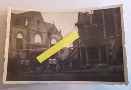 1940 Peronne La Ville La Gare Les Destructions Après Les Combats Occupation Allemande 5 Photos Ww2 1939 1945 39-45 2WK - War, Military