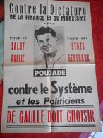 Affiche Politique - Poujade - Afiches