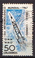 Brazil Used Stamp, Error With Blue Colour Imprint - Brazil