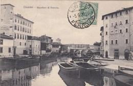 LIVORNO-QUARTIERE DI VENEZIA-CARTOLINA VIAGGIATA IL 5-6-1920 - Livorno